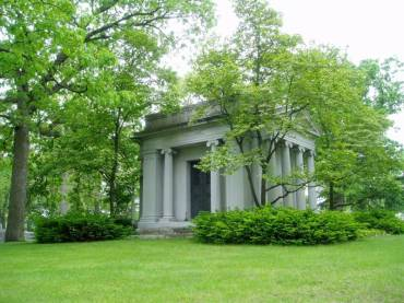 Oakhill Cemetery Withey Mausoleum