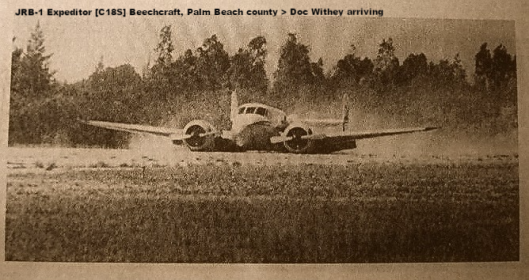 Palm Beach County- Doc Withey arriving