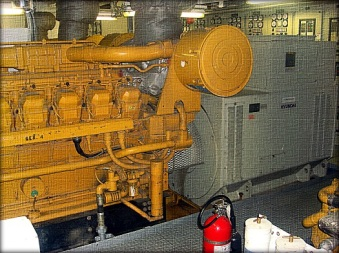 Caterpillar 3516, 2100 kilowatt generator unit