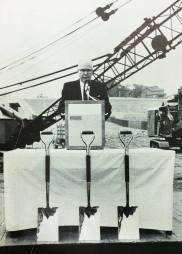 Editor Lee M Woodruff Grand Rapids Press. Groundbreaking ceremony.